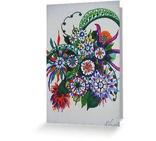 abstract 1 Greeting Card