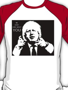 Boris Johnson says what he thinks T-Shirt