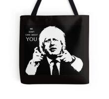 Boris Johnson says what he thinks Tote Bag