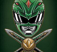 Dragonzord Power - Print by TrulyEpic