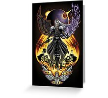 One Winged Angel - Print Greeting Card