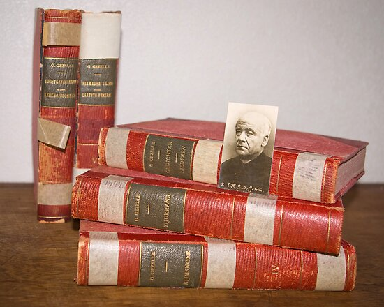 Vintage poetry books Guido Gezelle by steppeland