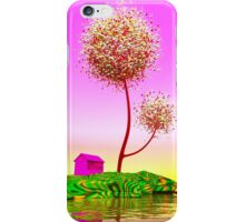 Colorful island. iPhone Case/Skin