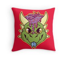 Cupcake Dragon Throw Pillow