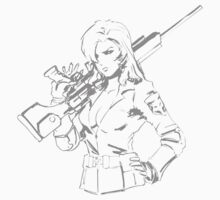 MGS - Sniper Wolf With a PSG1 by Juned8052
