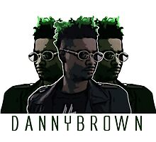 Danny Brown Illustration by Ben McCarthy