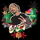 Snoop dogg - plain background by MsShyne