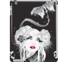 skull moth iPad Case/Skin