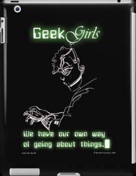 Geek Girls by McGill-Pros