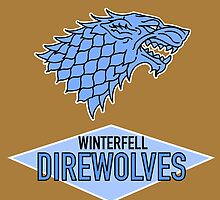 Winterfell Direwolves by enfeder