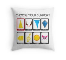 Choose your Support Throw Pillow