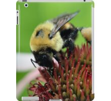 Working hard! iPad Case/Skin