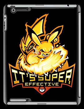 Pika Power - Ipad Case by TrulyEpic