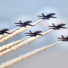 US Navy Blue Angels by Noble Upchurch