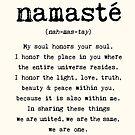 Namaste. by wolfandbird