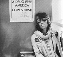 Drug Free America - Halftone Series by hermitcrab
