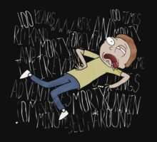 Rick and Morty One Hundred Years T-Shirt