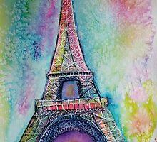 Le Eiffel tour  by Karin Zeller