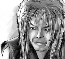 Jareth - Labyrinth by Roslyn Sherratt