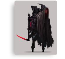 Grim Reaper II Robotics Canvas Print
