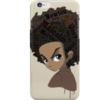 Huey Freeman - Black Power iPhone Case/Skin
