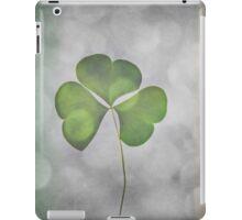 Glittering Shamrock iPad Case/Skin