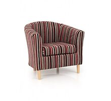 Redland Stripe Tub Chair by athomefurniture