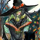 Witchy Attitude by Robin Pushe'e