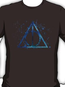 Deathly Hallows Blue  T-Shirt