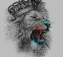 King Lion by clingcling