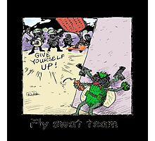 Fly Swat Team Photographic Print
