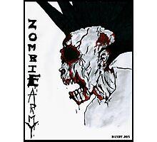 Zombie Army Photographic Print