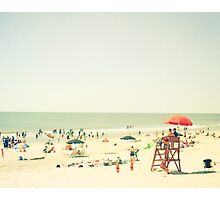 One Summer Day at the Beach Photographic Print