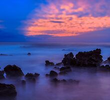 Blue Sunrise 1 by Leigh Anne Meeks