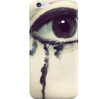 Tears of sorrow iPhone Case/Skin