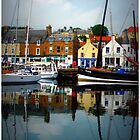 Anstruther Harbour by Francis  McCafferty This is Fife!