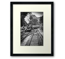 All Aboard!! Framed Print