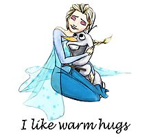 I Like Warm Hugs Photographic Print