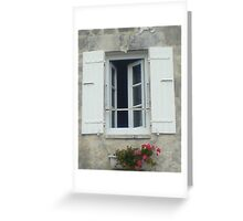 French Window Greeting Card