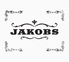 Jakobs logo (Black) Borderlands by weeweeface