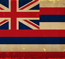 Hawaii State Flag VINTAGE by carolinaswagger
