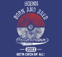 Born and Bred (Hoenn, North America, 2003) by Duckster18