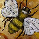 Flight of the Bumblebee VI by Lynnette Shelley