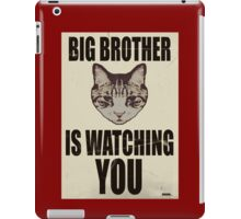 Orwellian Cat is Watching You iPad Case/Skin