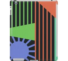 Abstract Lines of Color iPad Case/Skin