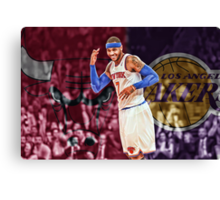 Carmelo Anthony Designs Canvas Print