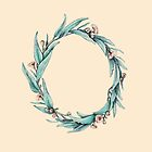 Eucalyptus Wreath on Neutral by ThistleandFox