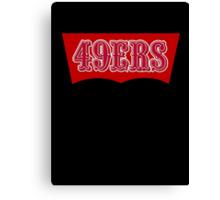 San Francisco 49ers Levi's Stadium without Text Canvas Print
