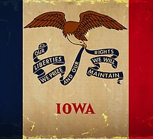 Iowa State Flag VINTAGE by Carolina Swagger
