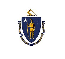 Massachusetts State Flag by carolinaswagger
